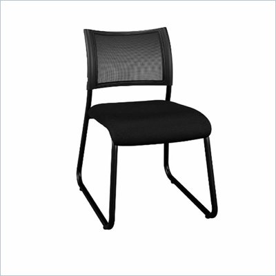 Bush Invite Collection Fabric Task Chair in Black