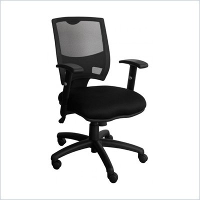 Bush Advance Mesh Managers Chair in Black