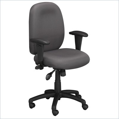 Bush Energize Multi-Function Task Chair in Gray