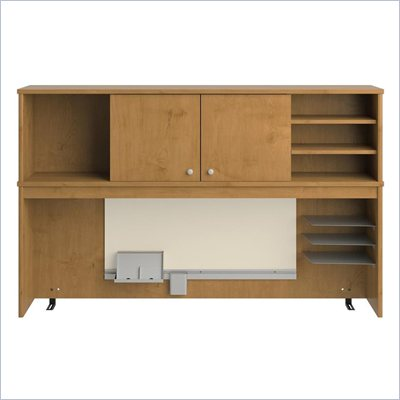 Bush Envoy Wood Hutch in Natural Cherry