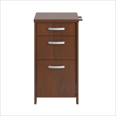 Bush Envoy 3 Drawer Pedestal in Hansen Cherry Finish