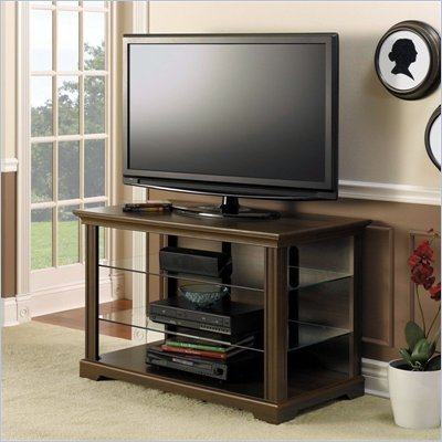 Bush MySpace Dorset Plasma/LCD TV Stand in Cherry Finish