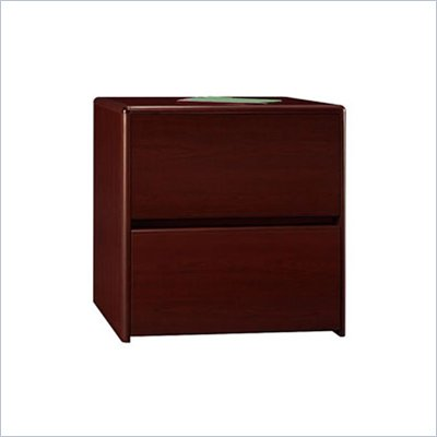 Bush Northfield 2 Drawer Lateral Wood File Storage Cabinet in Cherry