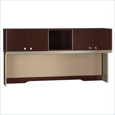 Bush Quantum Harvest Cherry 72 Inch Hutch