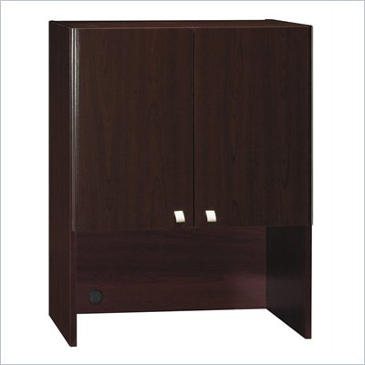 Bush Quantum Harvest Cherry 30 Inch Storage Hutch