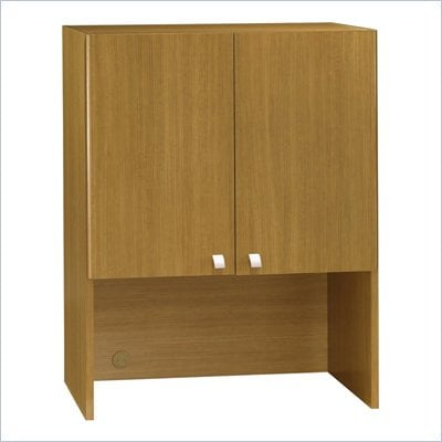 Bush Quantum Modern Cherry 30 Inch Storage Hutch