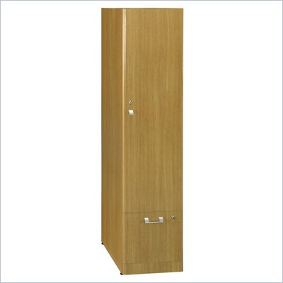 Bush Quantum Modern Cherry Tall Storage Tower