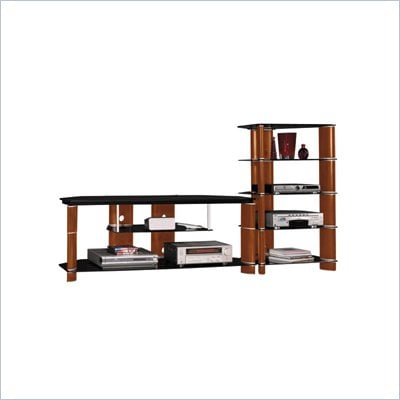 Bush Segments  58&quot; TV Stand and Audio Rack