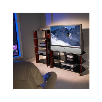 Bush Segments Collection 42 Inch Wood TV Stand and Audio Tower