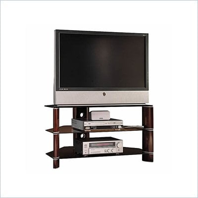 Bush 42&quot; Segments Wood Plasma/LCD TV Stand in Rosebud Cherry