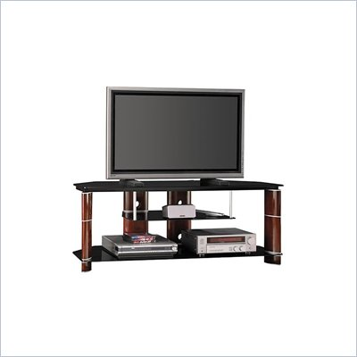 "Bush 58"" Segments TV Stand in Rosebud Cherry Finish"