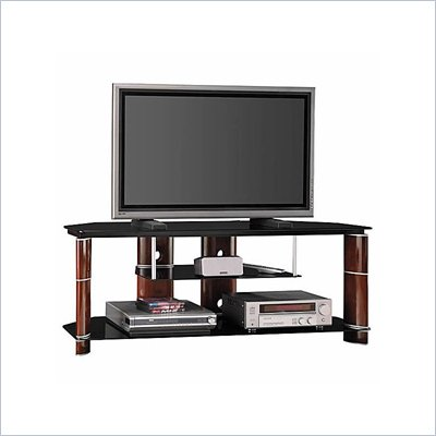 Bush Segments 58 Inch Wood TV Stand and Audio Rack Set