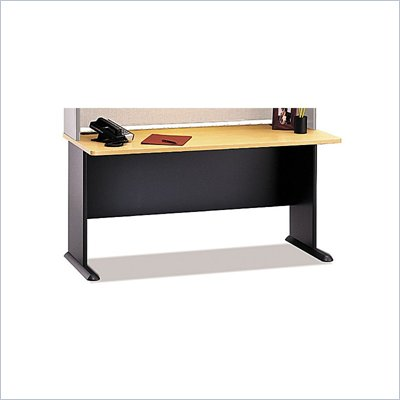 Bush Series A 60&quot; Wood Computer Desk in Beech