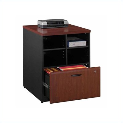 Bush Series A Storage Cabinet in Hansen Cherry