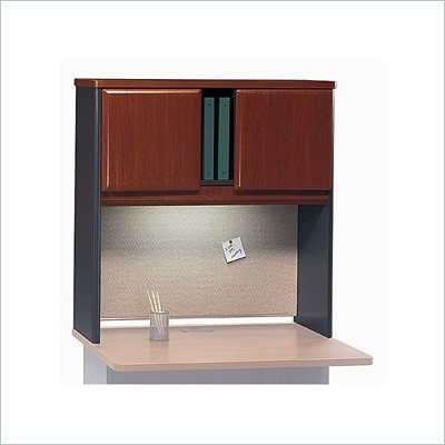 Bush Series A Hansen Cherry 36 inch Hutch