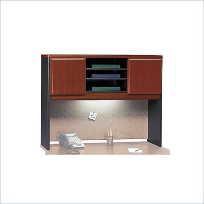 Bush Series A Hansen Cherry 48 inch Hutch