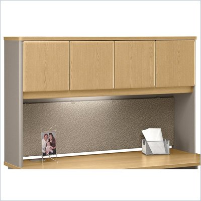 "Bush Light Oak Advantage Series A 60"" Hutch"