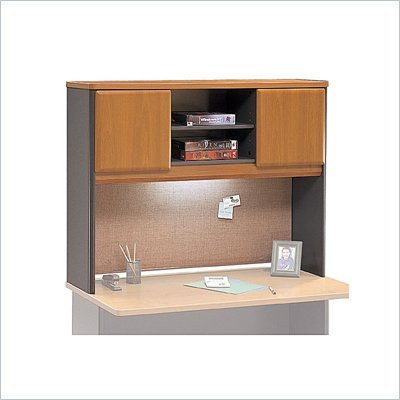 Bush Natural Cherry Advantage Series A 48 inch Hutch