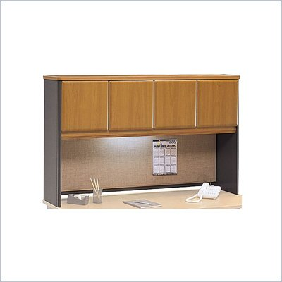 "Bush Natural Cherry Advantage Series A 60"" Hutch"