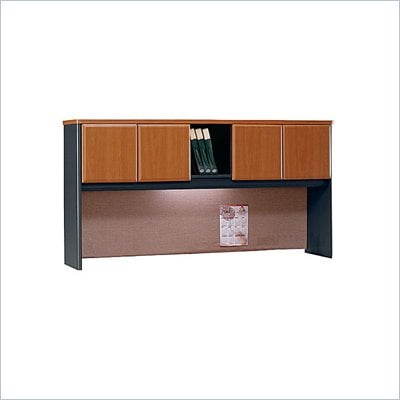 Bush Natural Cherry Advantage Series A 72&quot; Hutch