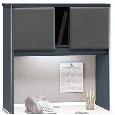 Bush Series A Slate 36 inch Hutch