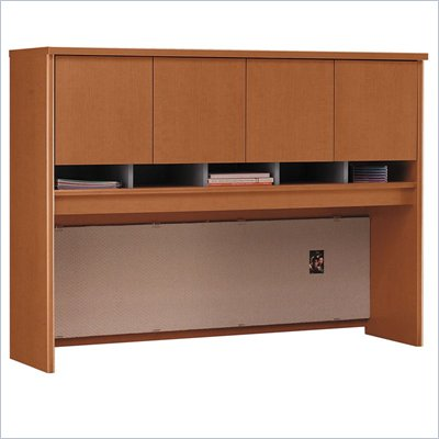 Bush Auburn Maple Series C - 60 inch Hutch