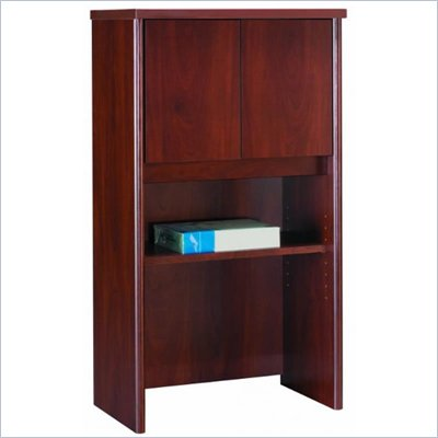 "Bush Series C 24"" Storage Hutch in Hansen Cherry"
