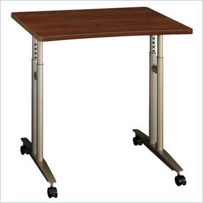 Bush Series C Hansen Cherry Mobile Table