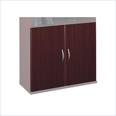 Bush Series C Half Height Door Kit in Mahogany (2 drs)
