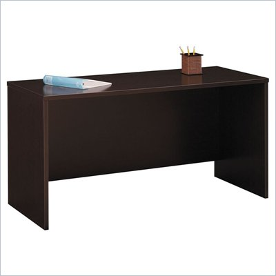 Bush Series C 60&quot; Wood Credenza in Mocha Cherry