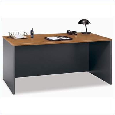 Bush Series C 66&quot; Desk in Natural Cherry