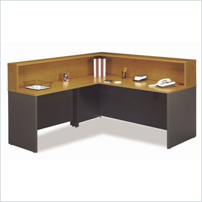 Bush Natural Cherry Series C Reception L-Hutch