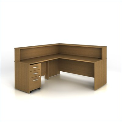 Bush Series C 003 Reception Configuration in Warm Oak