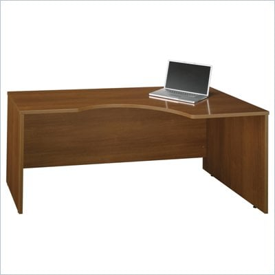 Bush Series C 72&quot;W RH Corner Module Desk in Warm Oak