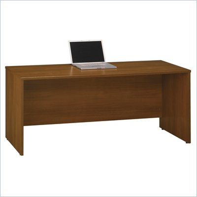 Bush Series C 72&quot;W Credenza Shell in Warm Oak