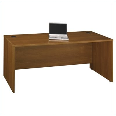 Bush Series C 72&quot;W Desk Shell in Warm Oak