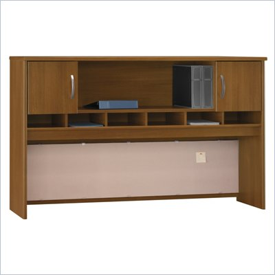 Bush Series C 72&quot;W Overhead (2 Door) in Warm Oak