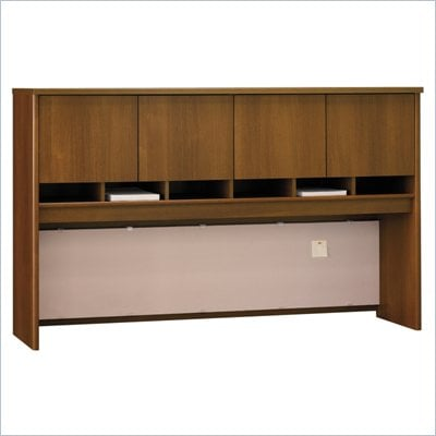 Bush Series C 72&quot;W Overhead (4 Door) in Warm Oak
