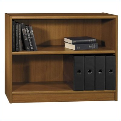 Bush Universal 30&quot;H 2 Shelf Wood Bookcase in Royal Oak