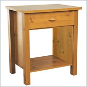 Venture Horizon Nouvelle Night Stand in Pine