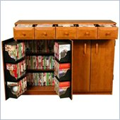 Venture Horizon CD DVD Media Storage Cabinet With Drawers