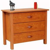 Venture Horizon Nouvelle 3 Drawer Chest in Cherry Finish