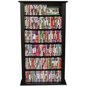 Venture Horizon Single 50-Inch CD DVD Wall Rack Media Storage