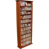Venture Horizon 76-Inch Tall CD DVD Wall Rack Media Storage