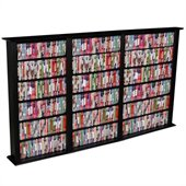 Venture Horizon Triple 50-Inch CD DVD Wall Rack Media Storage
