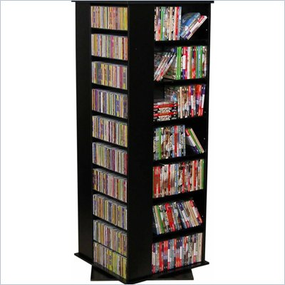 Venture Horizon Large CD/DVD Revolving Media Tower