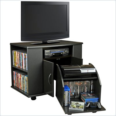 Venture Horizon TV Stand with CD/DVD Media Storage