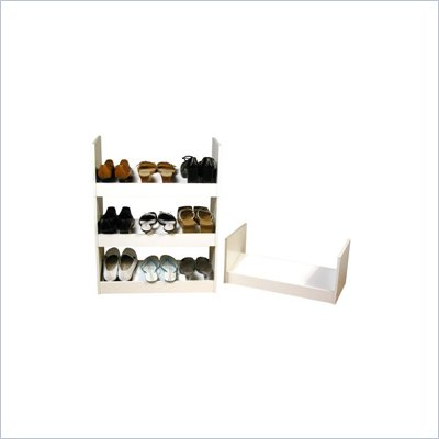 Venture Horizon Stackable Closet Organizer Shoe Rack