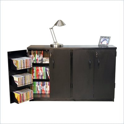 Venture Horizon Basic Double Wide CD/DVD Media Storage Cabinet