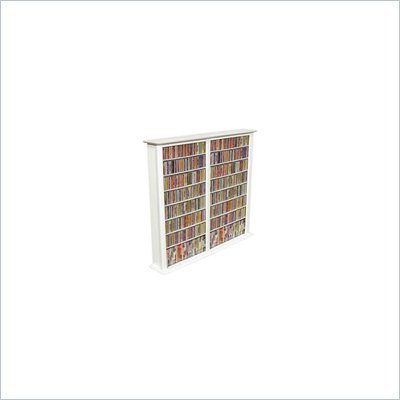 Venture Horizon Double 50-Inch CD DVD Wall Rack Media Storage